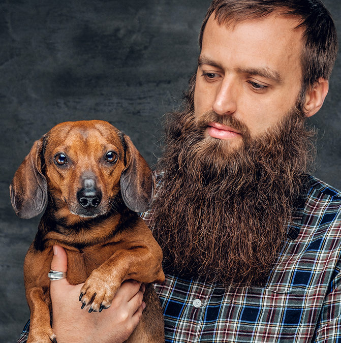 У бороді більше бактерій, ніж у собачій шерсті