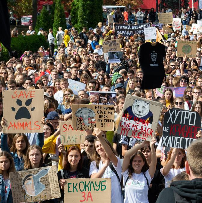 Марш за права животных: как украинцы отстаивали права четырехлапых